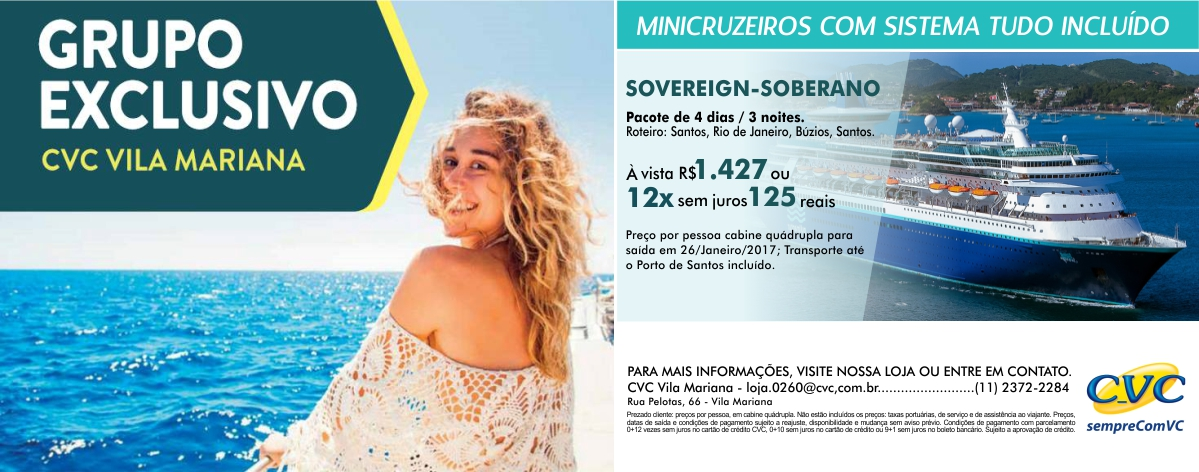 Link permanente para: CVC Vila Mariana